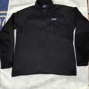 Patagonia 1/4 zipper rollover jacket
